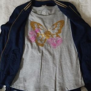 Jacket and T-Shirt Set